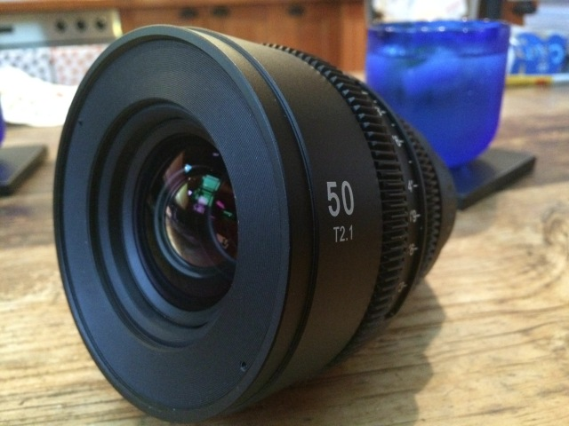 SLRMagic 50mm APO T2.1 lens