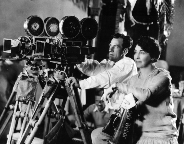 One of the first ever narrative film directors Alice Guy-Blaché